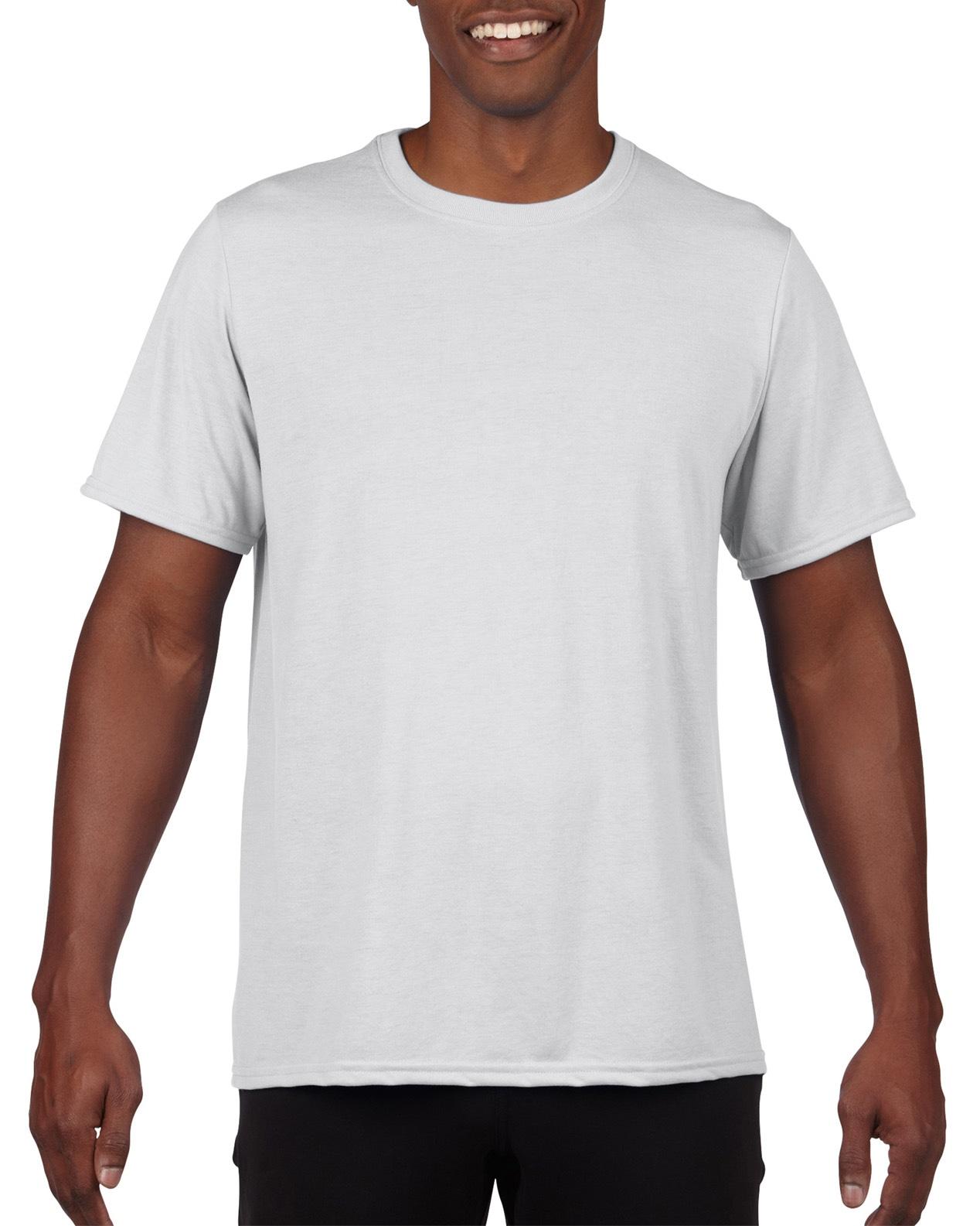 Apparel printing athletics gildan performance t shirt for Gildan t shirt printing