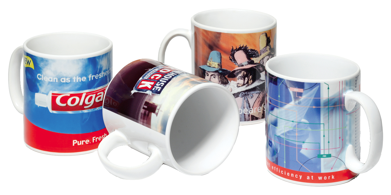 Full Color Custom Mugs Great Promotional Gift