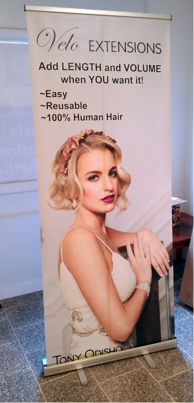 retractable banner printed by us